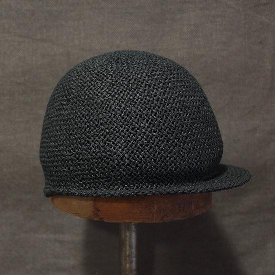 Horisaki Black Paper Straw Cap
