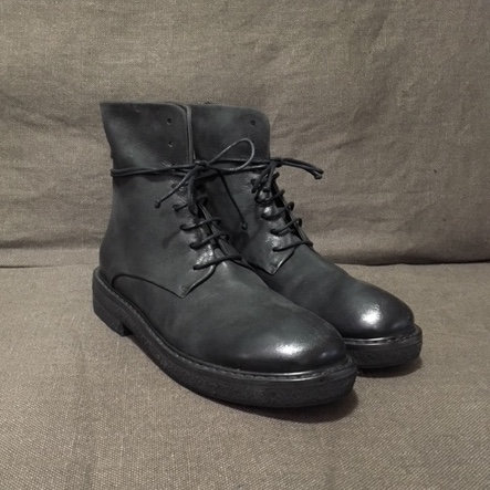Marsèll back-zip lace-up boots