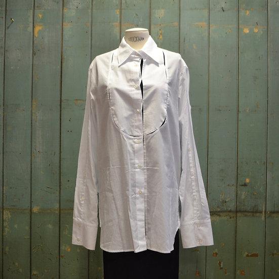 Ann Demeulemeester Shirt with Open Sleeve Bib