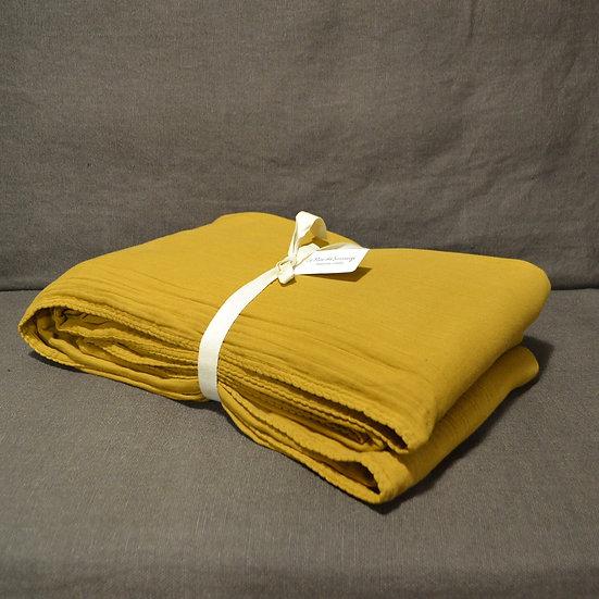 Le Monde Sauvage Double Cotton Flat Sheet