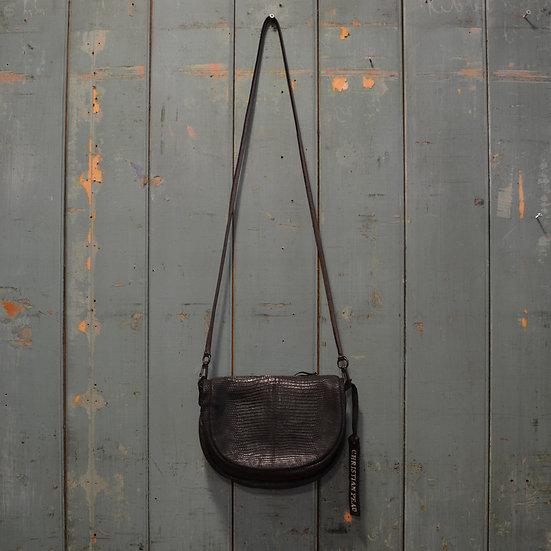Christian Peau Lizard Shoulder Bag