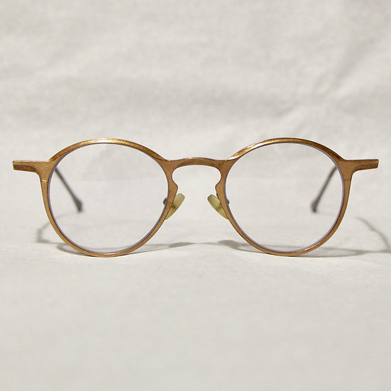 Rigards Textured Copper Teardrop Glasses