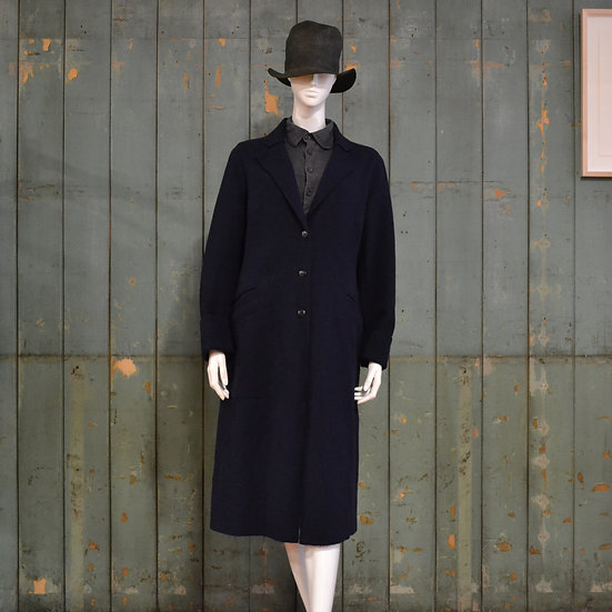 Chez Vidalenc Wool Melton Coat