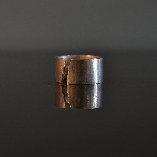 6x4 Cracked Band Ring