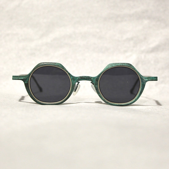 Rigards Jade Patina Mouth-shape Copper Glasses