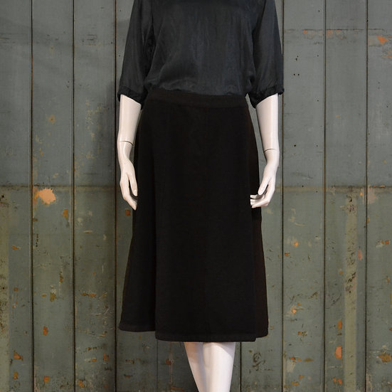Chez Vidalenc Panelled Wool Skirt