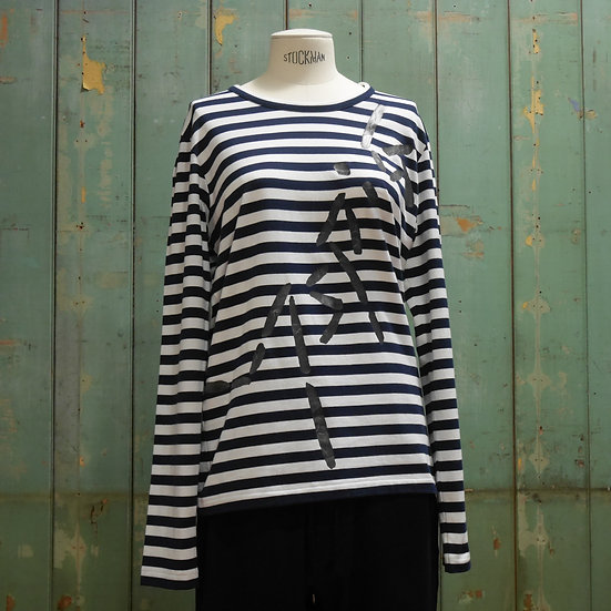 Y's Long Sleeve Stripe Top