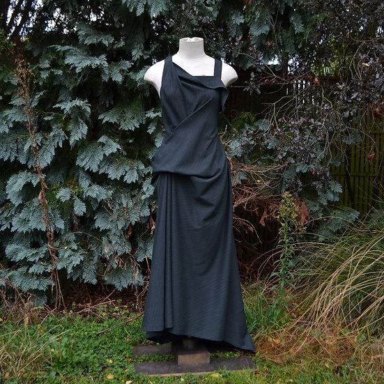 6x4 Draped Pinafore Dress