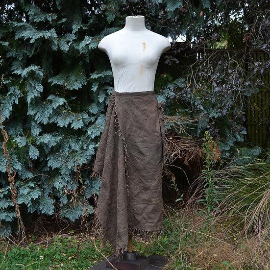 6x4 Tassel Fringed Wrap Skirt