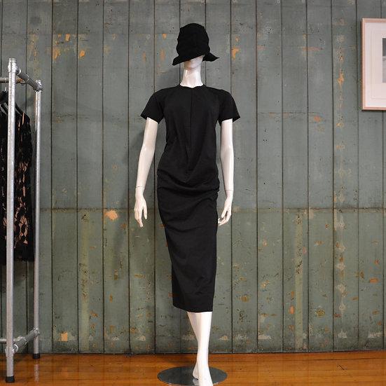 Comme des Garçons Centre-seam Short Sleeve Dress