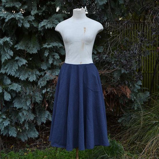 6x4 Circle Skirt With Hand Sewn Hem