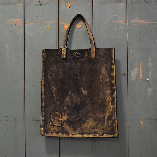 Yves Andrieux Leather Tote