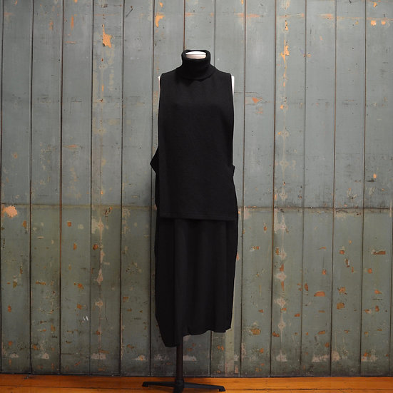 Y's High Neck Vest Dress