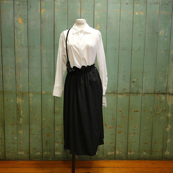 Y's Shoulder Strap Gather Skirt