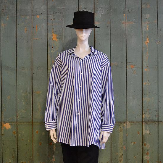 Junya Watanabe Striped Pleated Shirt