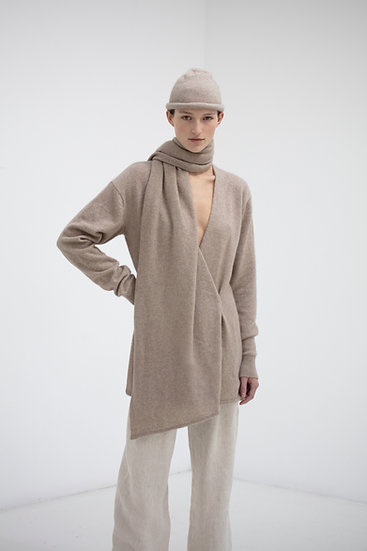 Rory William Docherty Shrouded Cardigan