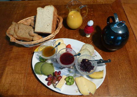 Verzorg en voedzaam ontbijt.