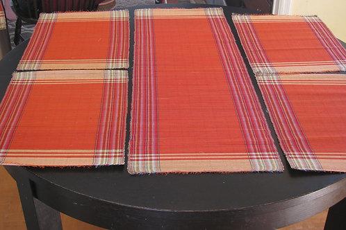 Handmade Raffia GrassRunner &Placemats