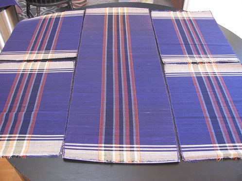 Handmade Raffia GrassTable Runner &Placemats