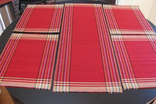 Handmade Raffia Grass Table Runner &Placemats