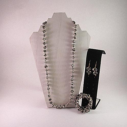 Necklace, Bracelet, & Earring Set