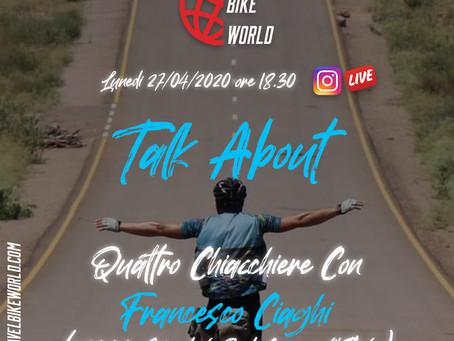 Talk About... Quattro chiacchiere con Francesco Ciaghi