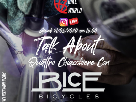 Talk About... Quattro Chiacchiere Con Dario Colombo (Bice Bicycle)