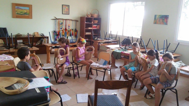 חוג נגינה בלירה לילדים  (בית ספר מעין )