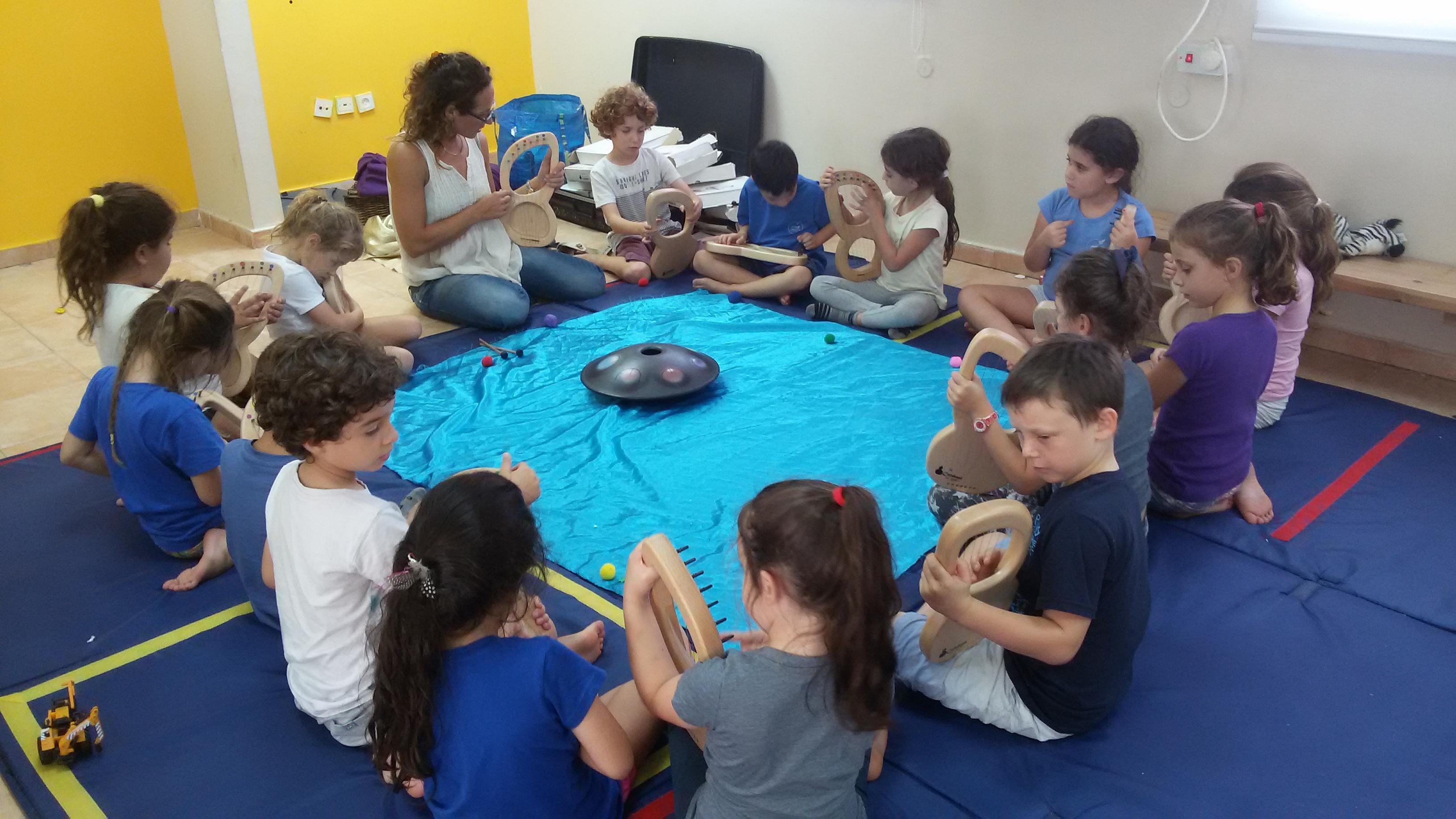 הפעלה מוסיקלית לילדים יום הולדת