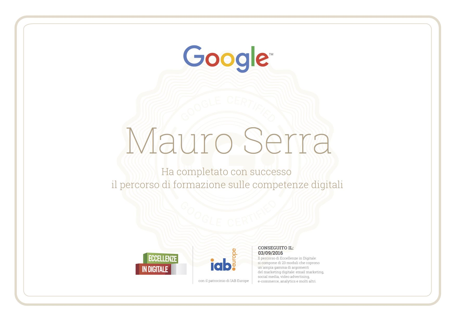 Google Digital Training