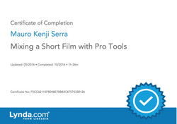 Mixing a Short Film with Pro Tools