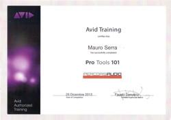 Mauro Serra - Avid Pro Tools 101
