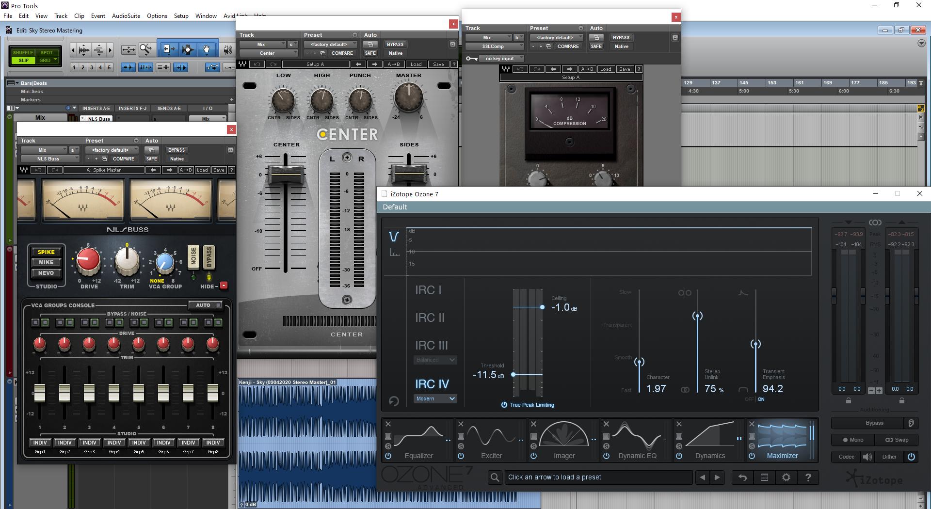 Cardiopalmo Stereo Mastering