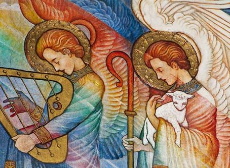 Nadie pintó a los ángeles como Phoebe Anna Traquair