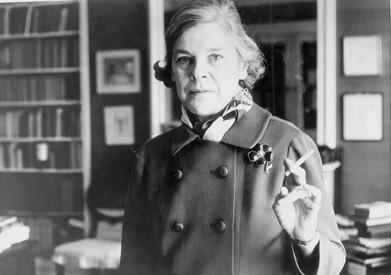 La escritora Mary McCarthy