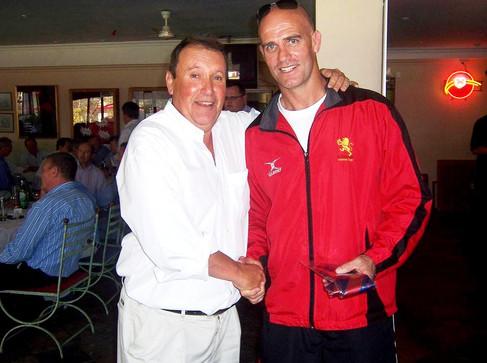 Sportsmans Lunch Aug 2010 5 Lions coach.