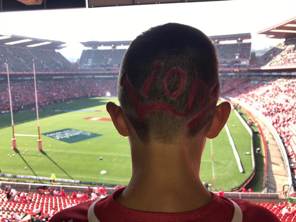 Lions Rugby Supporter