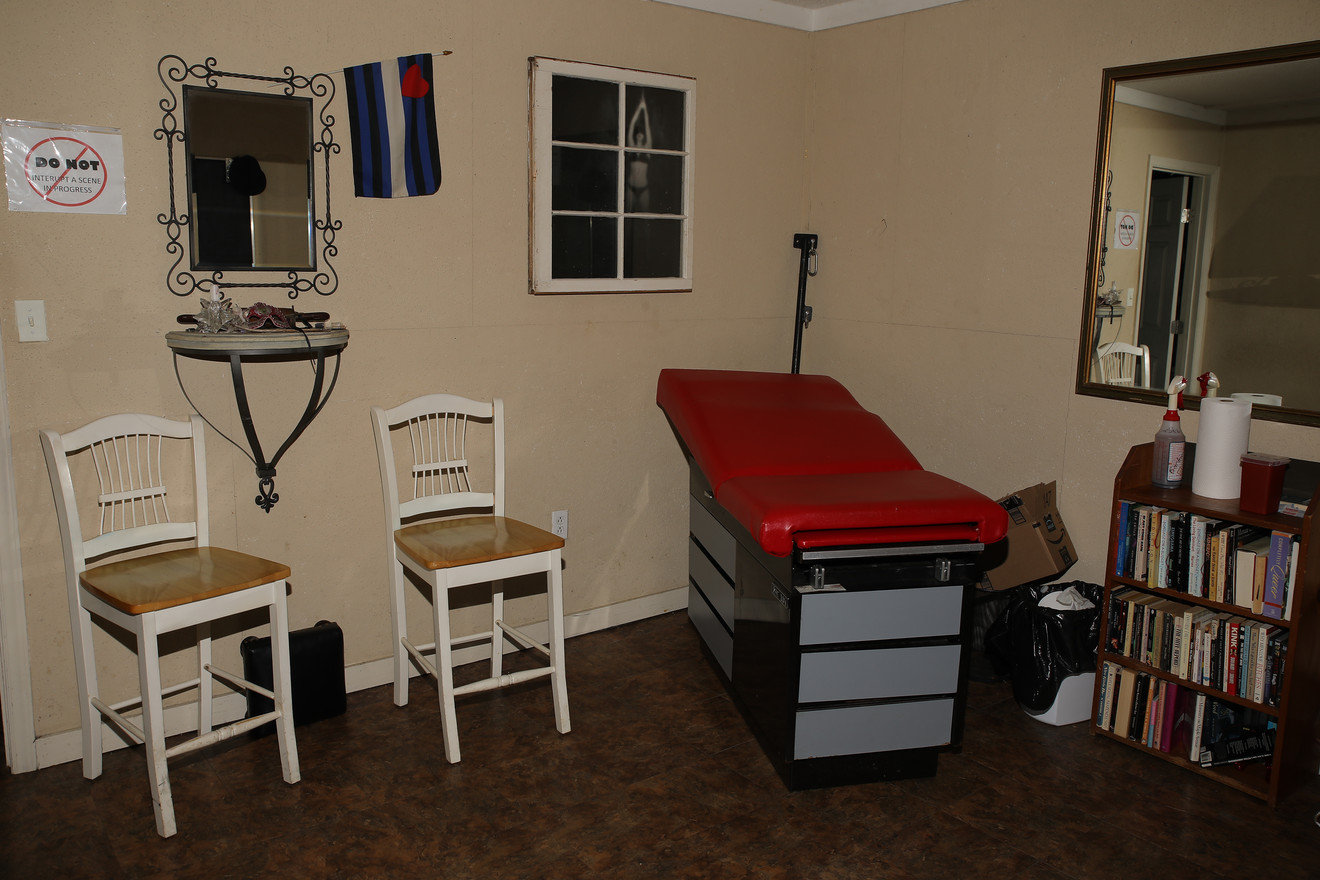 Raleigh Dungeon Med Exam Room