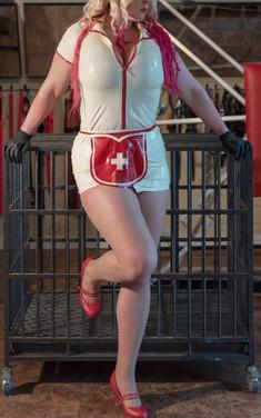 Mistress Windy Whispers Latex nurse