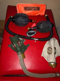 Gasmask kit breath control