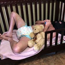 ABDL baby Raleigh Little's Fetish Nurser