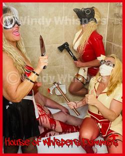 med play fetish rubber latex nurses