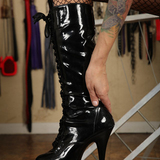 Mistress Blaze stiletto boots