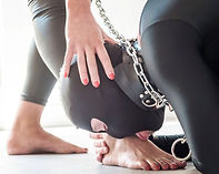 feet worship slave train