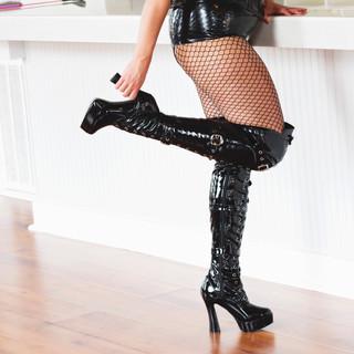 Mistress Windy Dominatrix Boots