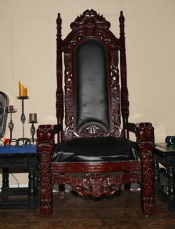 Raleigh Dungeon Throne