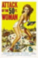 """giantess poster """"Attack of the 50 ft Wom"""
