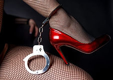Handcuffs and fishnets
