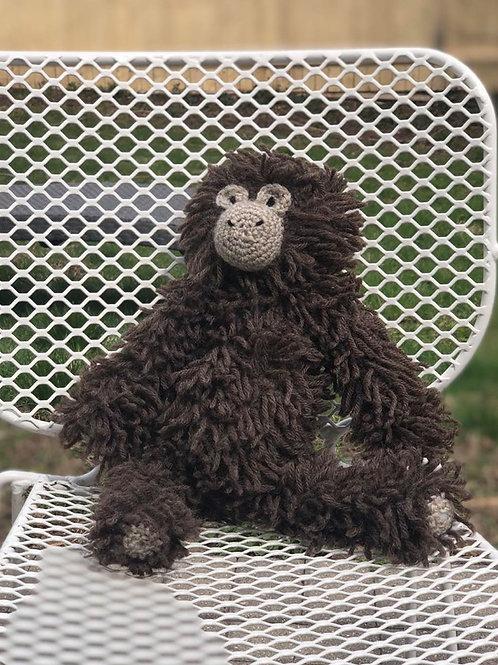 Hand Crochet Plush Monkey
