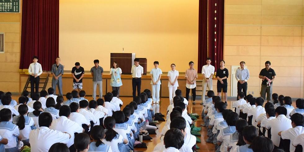 NEXT / July 13 有明中学校